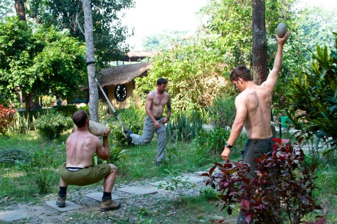 TRX adapting to its environment in the jungles of Chitwan, Nepal.